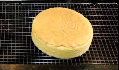 bánh sau khi hoàn thành